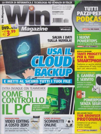 Win Magazine Plus - rivista + dvd - n. 271 - novembre 2020 - mensile