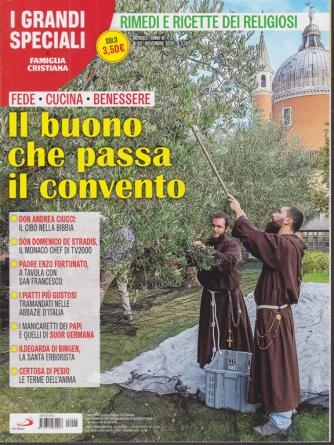 I Grandi Speciali di Famiglia cristiana - Il buono che passa il convento - n. 2 - mensile - novembre 2020