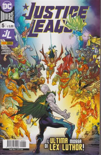 Justice League - L'ultima mossa di Lex Luthor! - n. 5 - mensile - 22 ottobre 2020