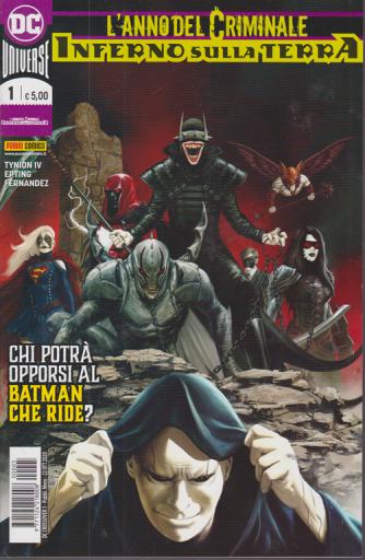 Dc Crossover -n. 5 - L'anno del criminale - Inferno sulla terra - Chi potrà opporsi al Batman che ride? - mensile - 22 ottobre 2020