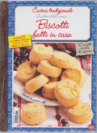 Cucina Tradizionale - Quaderni della nonna - Biscotti fatti in casa - + Speciale Cucina di mare - n. 7 - bimestrale - ottobre - novembre 2020 - 2 riviste