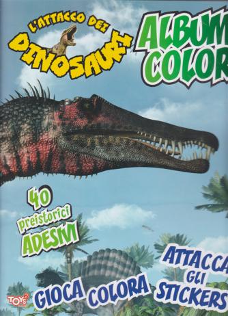 L'attacco dei dinosauri - album color - n. 45 - bimestrale - 20 ottobre 2020