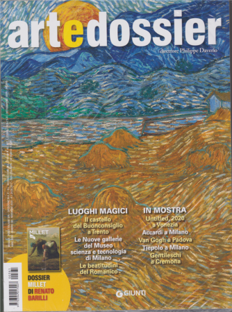 Art e Dossier + - Millet - n. 381 - novembre 2020 - mensile - 2 riviste
