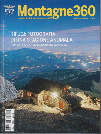 Montagne 360 - n. 98 - novembre 2020 - mensile