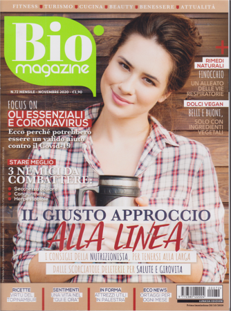 Bio Magazine - n. 72 - mensile - novembre 2020 -