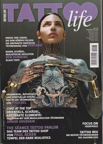 Tattoo Life - in Tedesco - n. 127 - november - dezember 2020