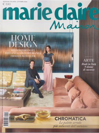 Marie Claire Maison - n. 10 - ottobre 2020 - mensile - edizione italiana