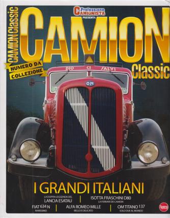 Professione Camionista presenta Camion Classic - n. 3 - I grandi italiani - Numero da collezione -  bimestrale - novembre - dicembre 2020