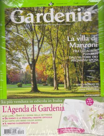Gardenia + L'Agenda di Gardenia 2021 - n. 439 - novembre 2020 - mensile - rivista + agenda