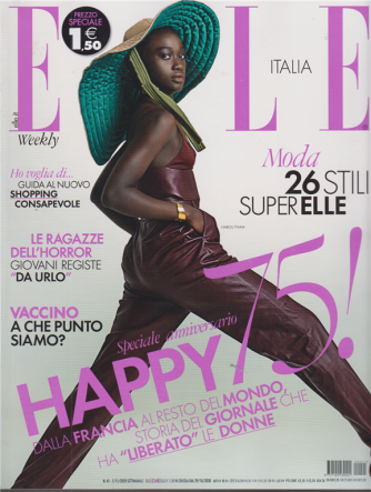 Elle - n. 41 - settimanale - 7/11/2020