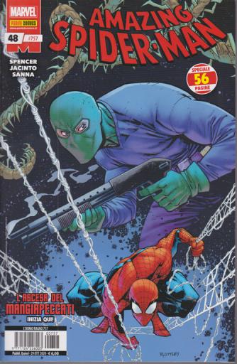 Uomo Ragno - Amazing Spider-Man - n. 757 - L'ascesa del mangiapeccati - quindicinale - 29 ottobre 2020 - 56 pagine