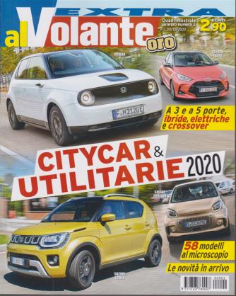Al Volante Extra - ''serie oro'' - n. 2 - Speciale citycar & utilitarie 2020 - quadrimestrale - 30/10/2020