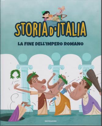 Storia d'Italia - La fine dell'impero romano - n. 11 - settimanale - 27/10/2020 - copertina rigida
