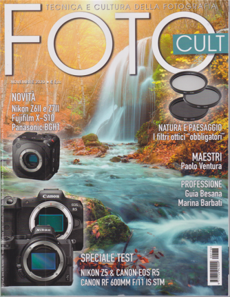 Foto Cult - n. 176 - novembre 2020 - mensile