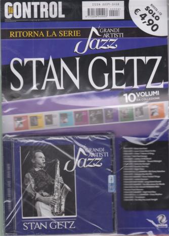 Saifam Music Control - Ritorna la serie I grandi artisti jazz - Stan Getz - rivista + cd