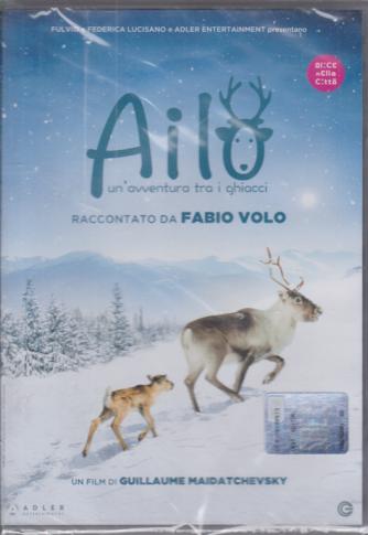 I Dvd Kids di Sorrisi - n. 21 - Ailo - Un'avventura tra i ghiacci  - raccontato da Fabio Volo - 3/11/2020 -