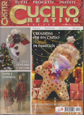 Cucito Creativo facile - n. 143 - novembre 2020 - mensile