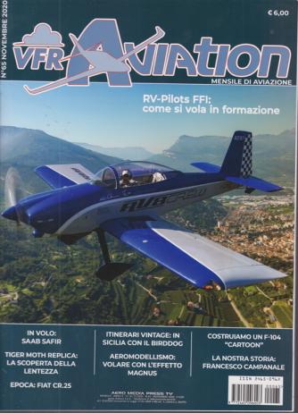 Vfr Aviation - n. 65 - novembre 2020 - mensile
