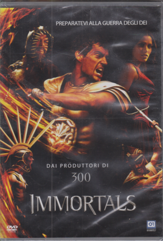 Playback - Immortals - Dai produttori di 300 - n. 8/2020  - mensile