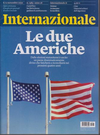 Internazionale - Le due Americhe - n. 1383 - 6/12 novembre 2020