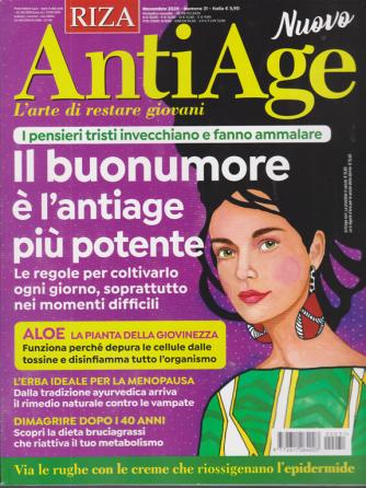 Riza Antiage - n. 31 - novembre 2020 - mensile