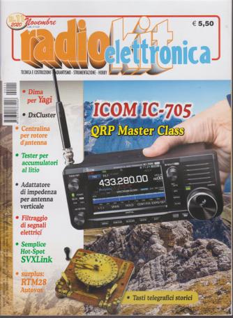 Radiokit Elettronica - n. 11 - novembre 2020 - mensile