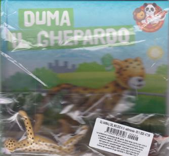 Gli animali dello zoo - Duma il ghepardo - n. 8 - settimanale - 6/11/2020 - copertina rigida