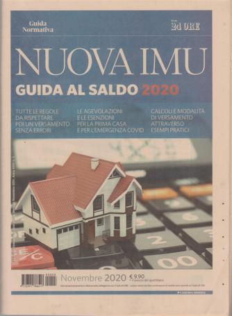 Guida normativa - Nuova IMU - Guida al saldo 2020 - n. 3 - mensile - novembre 2020