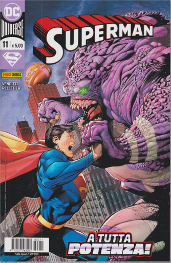 Superman - n. 11 - A tutta potenza! - quindicinale - 5 novembre 2020