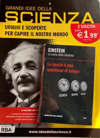 Le Grandi Idee Della scienza vol. 1 Einstein by RBA Italia