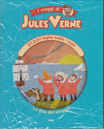 I viaggi di Jules Verne - 20.000 leghe sotto i mari - la fine del viaggio - n. 8 - settimanale - 6/11/2020 - copertina rigida