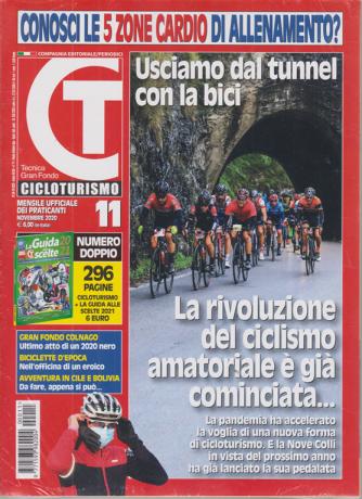 Cicloturismo - n. 11 - mensile - novembre 2020 - 296 pagine + La Guida alle scelte  2021 - 2 riviste