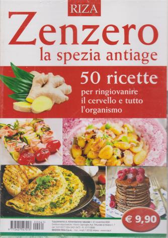 Alimentazione naturale - n. 61 - Zenzero la spezia antiage - novembre 2020