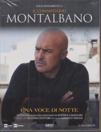 Luca Zingaretti in Il commissario Montalbano - Una voce di notte - n. 31 - 10/11/2020 - settimanale