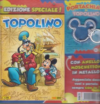 Topolino + Il portachiavi di Topolino - n. 3390 - settimanale - 11/11/2020 -