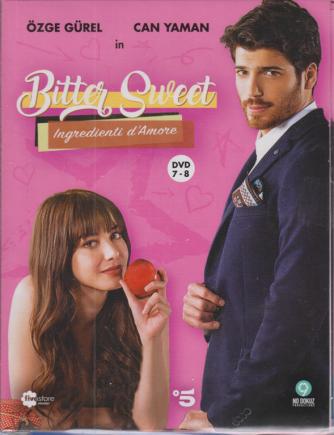 Fivestore Magazine - Bitter Sweet - Ingredienti d'amore - n. 4 - 2 dvd + booklet - 12 novembre 2020