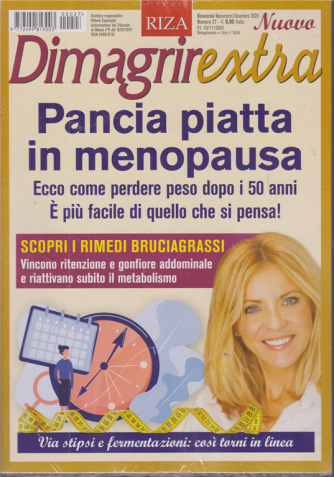 Dimagrirextra - Pancia piatta in menopausa - n. 27 - bimestrale - novembre - dicembre 2020