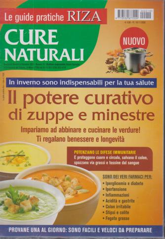 Le guide pratiche Riza - Cure naturali - Il potere curativo di zuppe e minestre - n. 19 - bimestrale - novembre - dicembre 2020 -