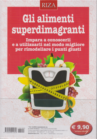 Le ricette Perdipeso - Gli alimenti superdimagranti - n. 109 - novembre - dicembre 2020 -