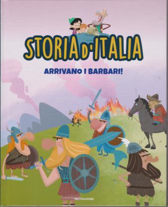 Storia d'Italia - Arrivano i barbari! - n. 13 - settimanale - 10/11/2020 - copertina rigida
