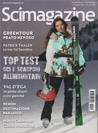 Scimagazine - n. 35 - mensile - 15 novembre 2020