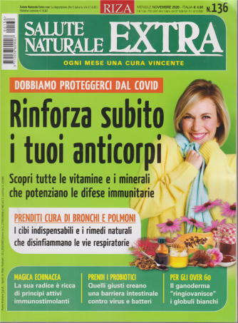 Salute Naturale Extra - n. 136 - mensile - novembre 2020