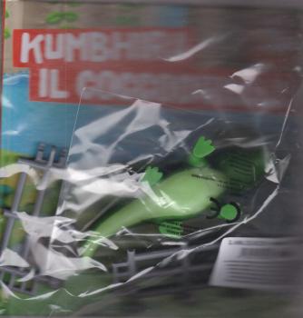Gli animali del mio zoo - Kumbhira il coccodrillo - n. 9 - settimanale - 13/11/2020 - copertina rigida