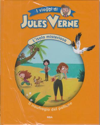 I viaggi di Jules Verne - L'isola misteriosa - Il naufragio del pallone - n. 9 - settimanale - 13/11/2020 - copertina rigida