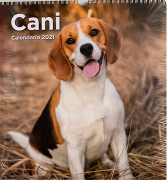Calendario Cani 2021 - cm. 31 x 33 con spirale