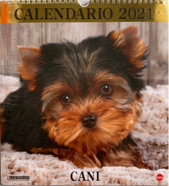 Calendario Cani 2021 - cm. 27x33 con spirale