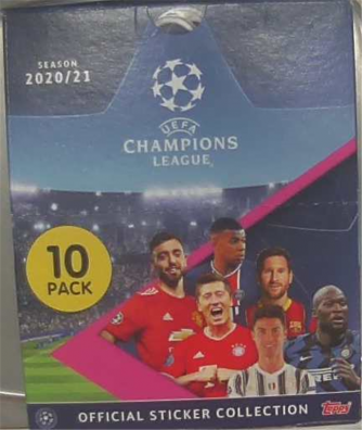 Pack 30 Bustine figurine Champions League (UEFA)  2020/21