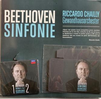 1° CD Beethoven Sinfonie - Sinfonie 1 & 2 + cofanetto