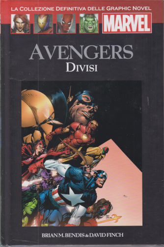 Graphic Novel Marvel - Avengers Divisi - n. 59 - 14/11/2020 - quattordicinale - copertina rigida