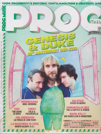 Prog Italia - n. 33 - novembre - dicembre 2020 - bimestrale